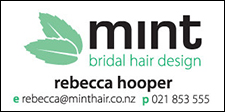 Mint Bridal Hair Design
